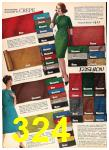 1962 Sears Fall Winter Catalog, Page 324