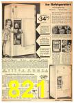 1942 Sears Spring Summer Catalog, Page 821