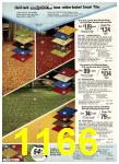 1977 Sears Spring Summer Catalog, Page 1166