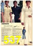 1977 Sears Spring Summer Catalog, Page 537