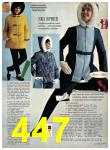 1969 Sears Fall Winter Catalog, Page 447