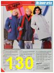 1986 Sears Fall Winter Catalog, Page 130