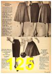 1962 Sears Fall Winter Catalog, Page 125