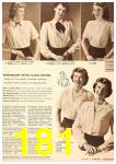 1949 Sears Spring Summer Catalog, Page 181