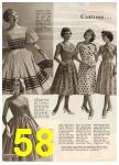 1960 Sears Spring Summer Catalog, Page 58