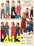 1956 Sears Fall Winter Catalog, Page 413