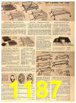 1956 Sears Fall Winter Catalog, Page 1187