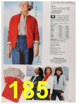 1988 Sears Fall Winter Catalog, Page 185