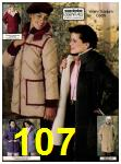 1982 Sears Fall Winter Catalog, Page 107