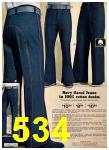 1975 Sears Fall Winter Catalog, Page 534