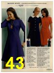 1972 Sears Fall Winter Catalog, Page 43