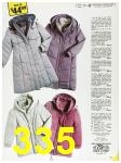 1985 Sears Fall Winter Catalog, Page 335