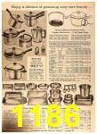 1960 Sears Fall Winter Catalog, Page 1186