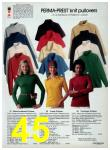 1977 Sears Fall Winter Catalog, Page 45