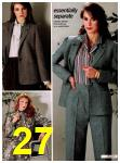 1982 Sears Fall Winter Catalog, Page 27