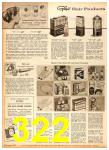 1958 Sears Fall Winter Catalog, Page 322