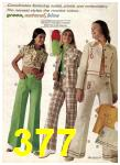 1975 Sears Spring Summer Catalog, Page 377