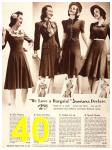 1940 Sears Fall Winter Catalog, Page 40