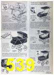 1967 Sears Spring Summer Catalog, Page 539