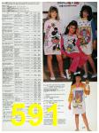 1988 Sears Fall Winter Catalog, Page 591