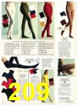 1971 Sears Fall Winter Catalog, Page 209