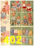 1958 Sears Spring Summer Catalog, Page 402
