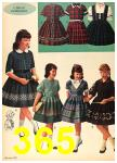 1962 Sears Fall Winter Catalog, Page 365