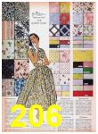 1957 Sears Spring Summer Catalog, Page 206
