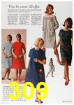 1964 Sears Fall Winter Catalog, Page 309
