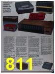 1986 Sears Fall Winter Catalog, Page 811