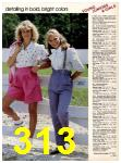 1983 Sears Spring Summer Catalog, Page 313