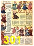 1940 Sears Fall Winter Catalog, Page 301