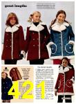 1974 Sears Fall Winter Catalog, Page 421