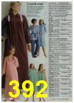 1980 Sears Fall Winter Catalog, Page 392