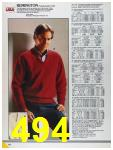 1986 Sears Fall Winter Catalog, Page 494