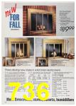 1988 Sears Fall Winter Catalog, Page 736