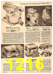 1960 Sears Fall Winter Catalog, Page 1216