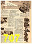 1956 Sears Fall Winter Catalog, Page 707