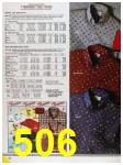 1986 Sears Fall Winter Catalog, Page 506