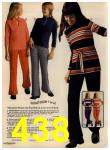 1972 Sears Fall Winter Catalog, Page 438