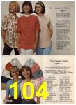 1965 Sears Spring Summer Catalog, Page 104