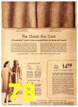1942 Sears Spring Summer Catalog, Page 78