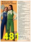1977 Sears Fall Winter Catalog, Page 481