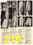 1965 Sears Fall Winter Catalog, Page 316