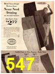 1966 Montgomery Ward Fall Winter Catalog, Page 547