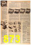 1963 Sears Fall Winter Catalog, Page 873