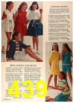 1964 Sears Spring Summer Catalog, Page 439