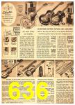 1949 Sears Spring Summer Catalog, Page 636