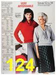 1987 Sears Fall Winter Catalog, Page 124
