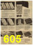 1965 Sears Spring Summer Catalog, Page 605